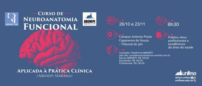 Curso de Neuroanatomia Funcional Aplicada à Prática Clínica