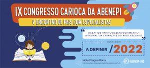 IX Congresso Carioca da Abenepi 2022