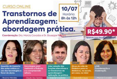 Transtornos de Aprendizagem: abordagem prática (10/07/2021)