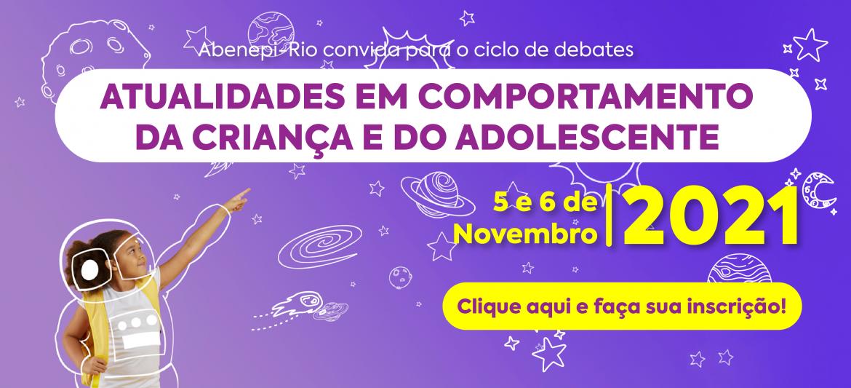 ATUALIDADES EM COMPORTAMENTO DA CRIANÇA E DO ADOLESCENTE