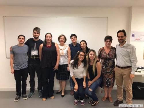 Encontro entre a ABENEPI-Rio e a Liga Acadêmica de Neurologia da Unigranrio